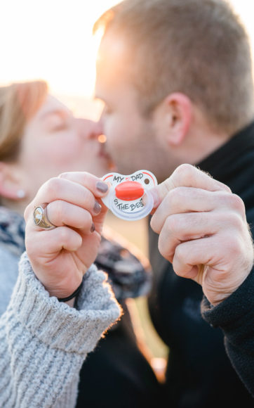 Paar- und Babybauchshooting Carolin & Andreas