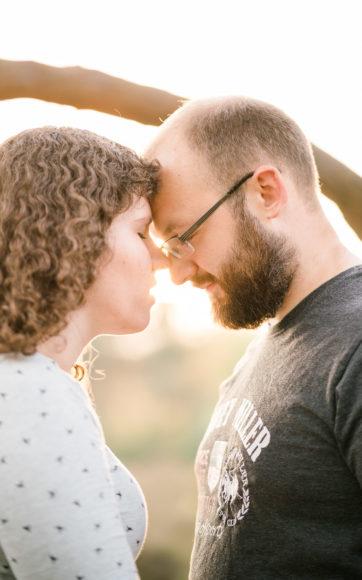 Paar- und Babybauchshooting Sandra & Julian