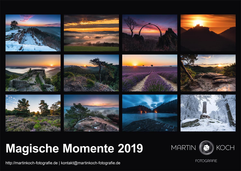 Martin Koch Fotografie Kalender 2019
