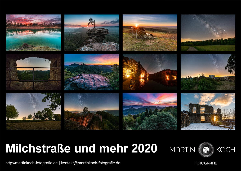Martin Koch Fotografie Kalender 2020