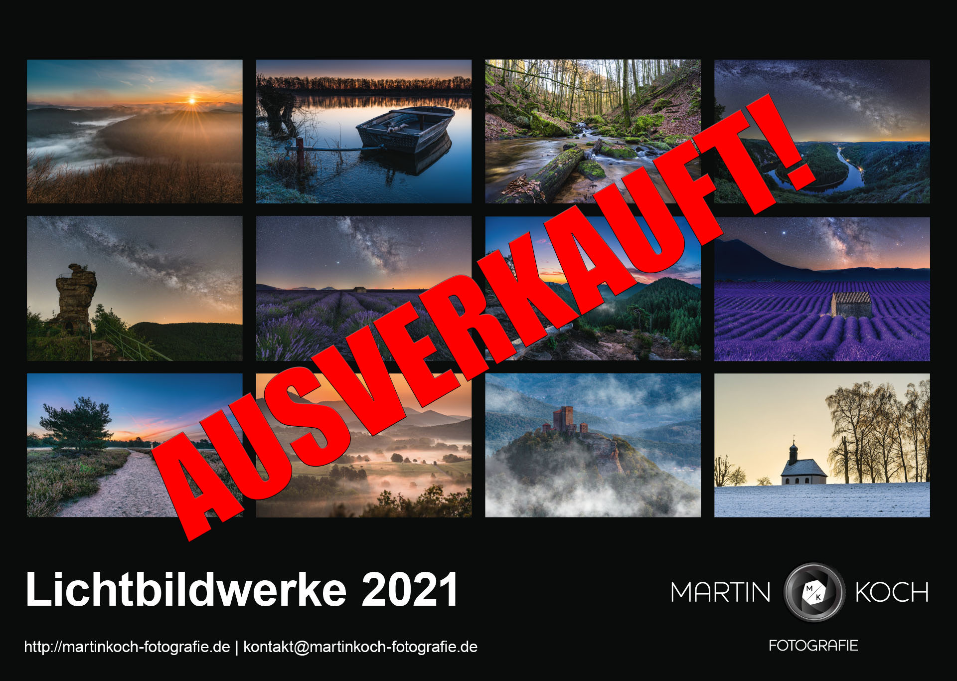 Martin Koch Photography Calender 2021